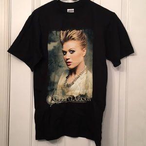 Kelly Clarkson Rare 2005 Tour T-SHIRT Black Sz Sm